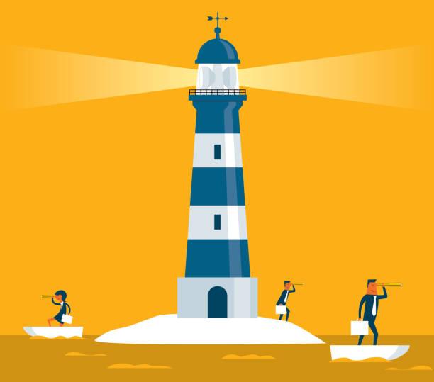 illustrations, cliparts, dessins animés et icônes de phare - l'équipe des activités - phare