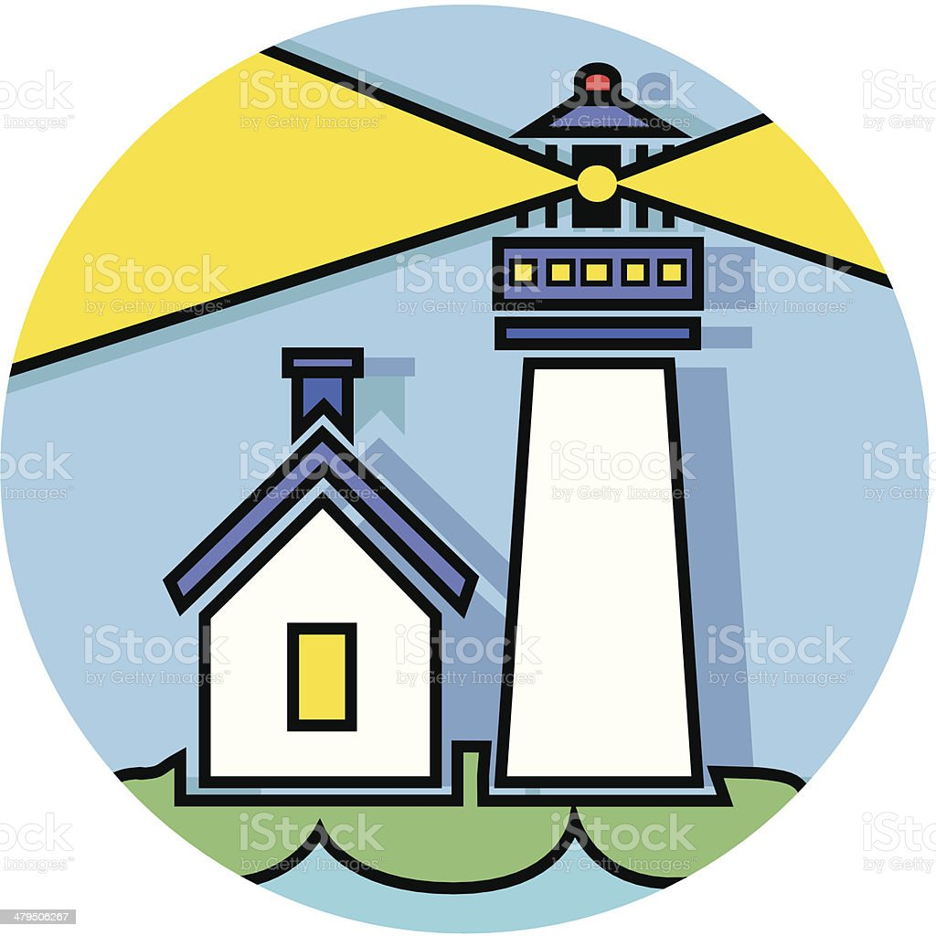 lighthouse icon royalty-free lighthouse icon stock vector art & more images of bay of water