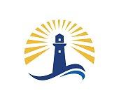 istock Lighthouse icon 863303362