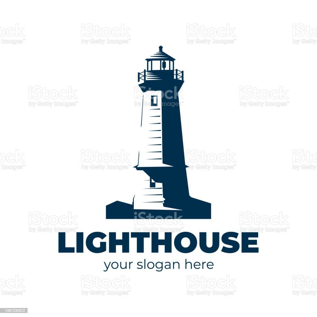 Lighthouse Logo Stock Illustration - Download Image Now ...