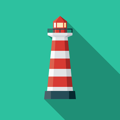 Lighthouse of Praia da Barra Portugal Icon