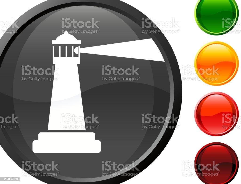 lighthouse Searchlight internet royalty free vector art royalty-free stock vector art