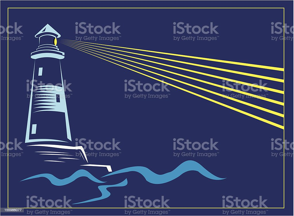 Lighthouse royalty-free lighthouse stock vector art & more images of beacon