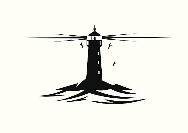 Lighthouse Lighthouse Vector Art lighthouse stock illustrations