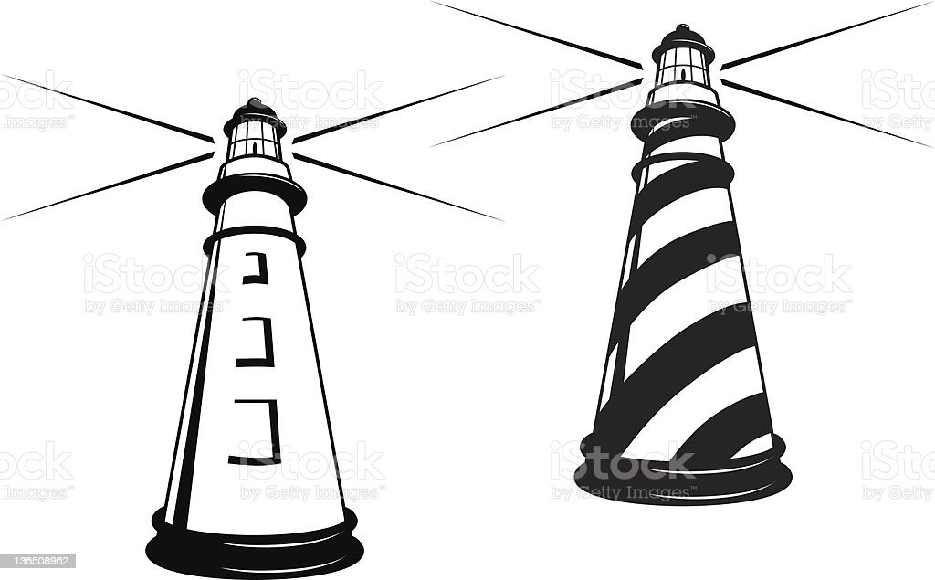 Lighthouses royalty-free lighthouses stock vector art & more images of beach