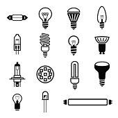 Lighting icons