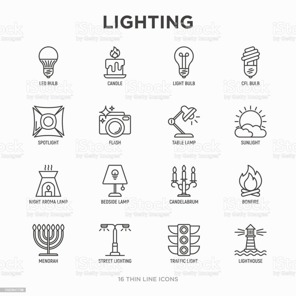 Bougie Led Kit Fine Ligne Cfl Lampe De Icônes Déclairage Ampoule v8ymNnO0w