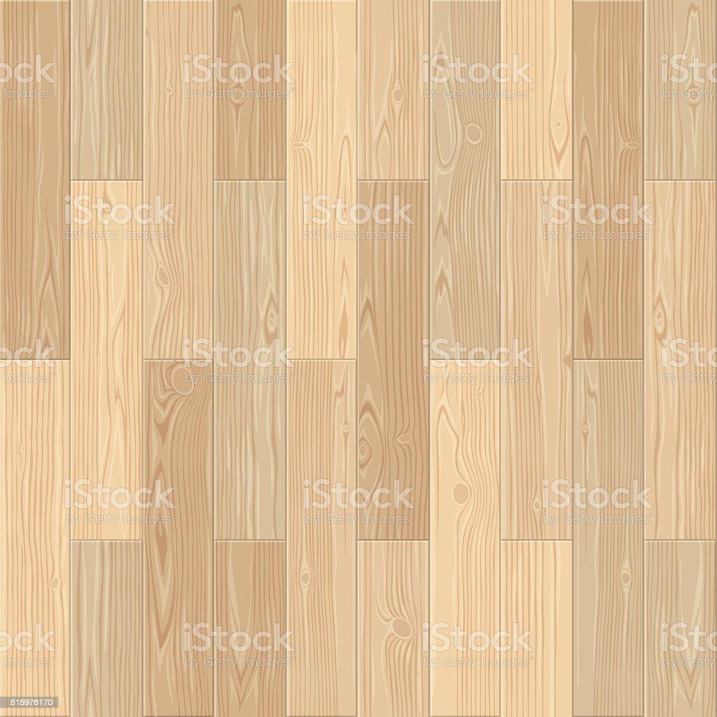 Lightl Parquet Seamless Floor Pattern vector art illustration