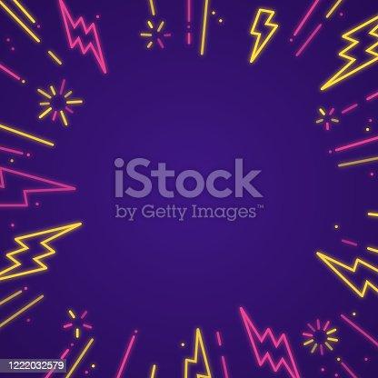 istock Lightning Blast Background 1222032579