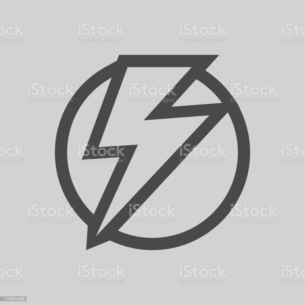 Lightning Bolt Icon Isolated Sign Symbol And Flat Style For App Web And Digital Design Stock Illustration Download Image Now Istock
