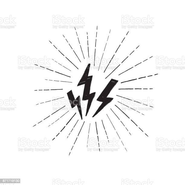 Lightning bolt set grunge strike icon power sign thunderbolt vector id871719130?b=1&k=6&m=871719130&s=612x612&h=cmvhlpgz1kkgekgskna 6igjlxa4sb7fze1i3nyjncm=