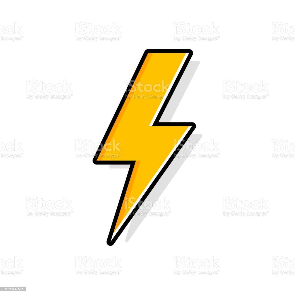 lightning bolt thunder bolt lighting strike expertise flat vector icon stock illustration download image now istock https www istockphoto com vector lightning bolt thunder bolt lighting strike expertise flat vector icon gm1212437515 351972863