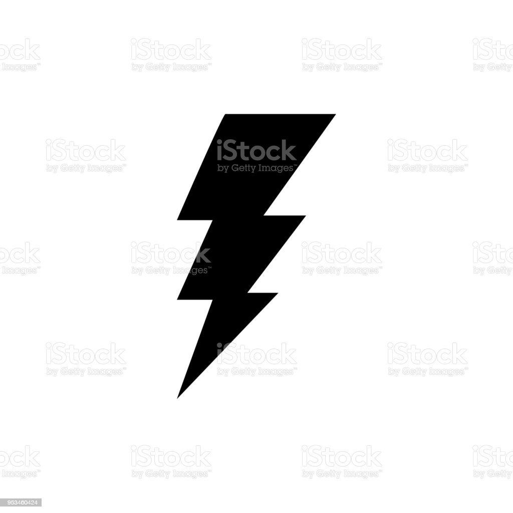 lightning bolt vector icon stock vector art more images of rh istockphoto com vector lightning bolt free vector lightning mcqueen