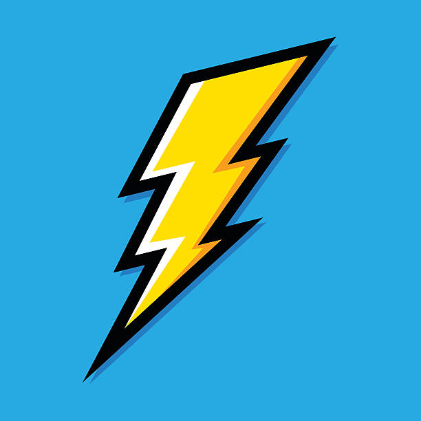 молний молнии - lightning stock illustrations