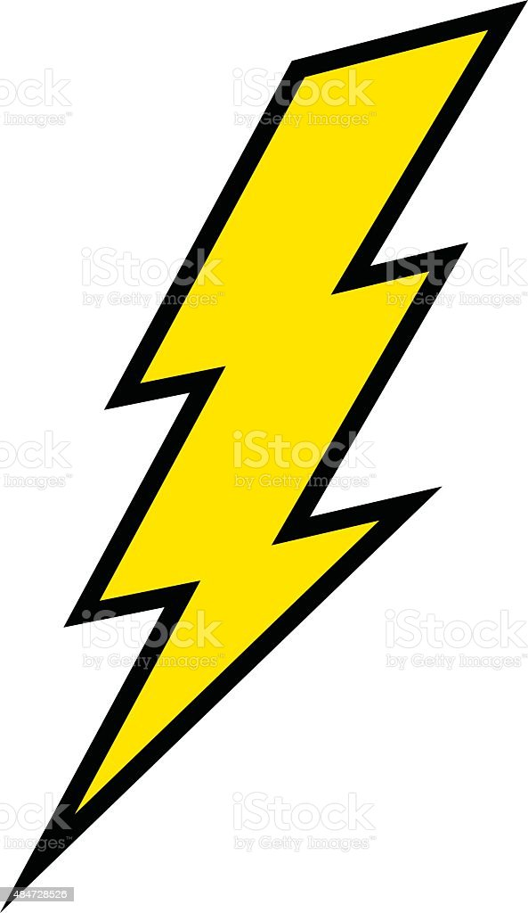 lightning bolt stock vector art more images of 2015 484728526 istock rh istockphoto com