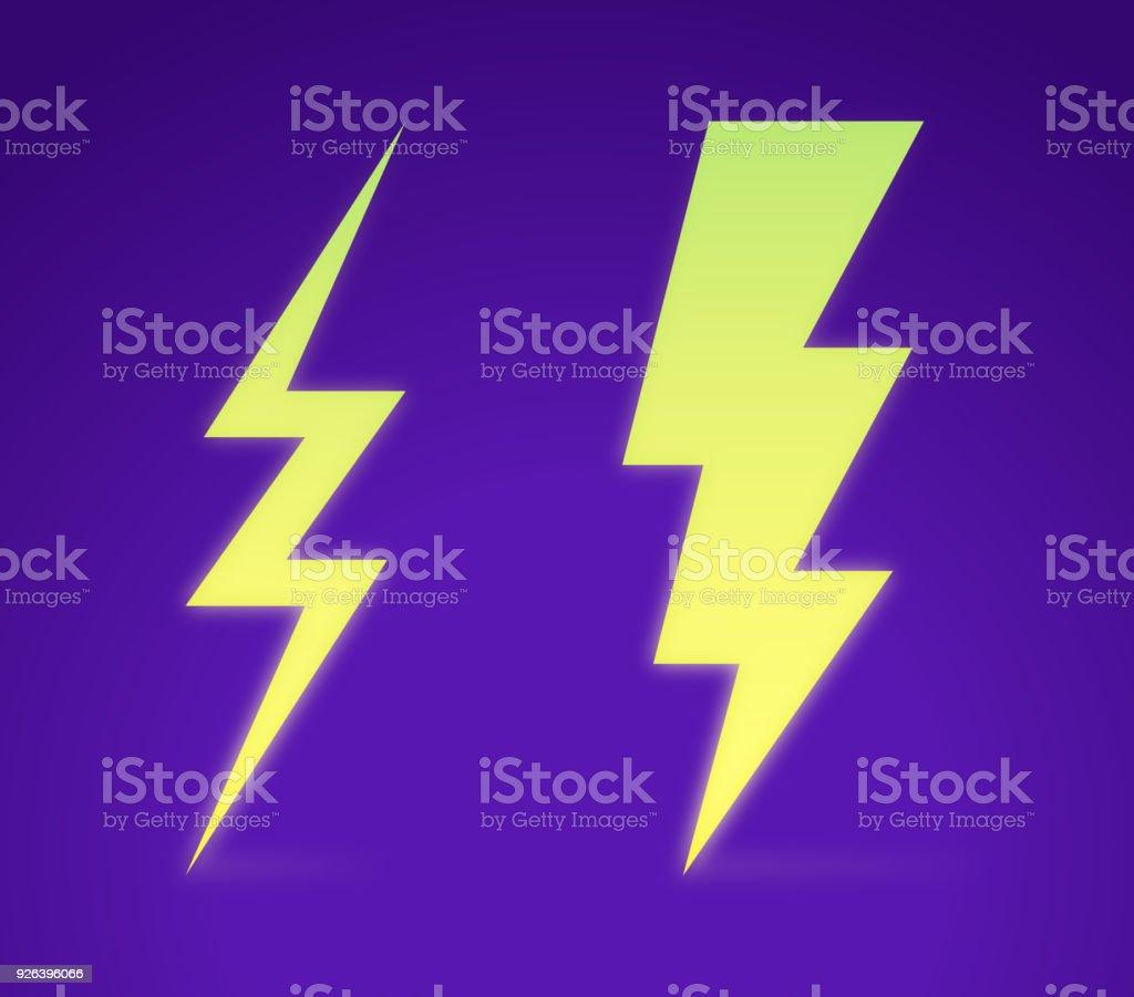 Lightning Bolt - illustrazione arte vettoriale
