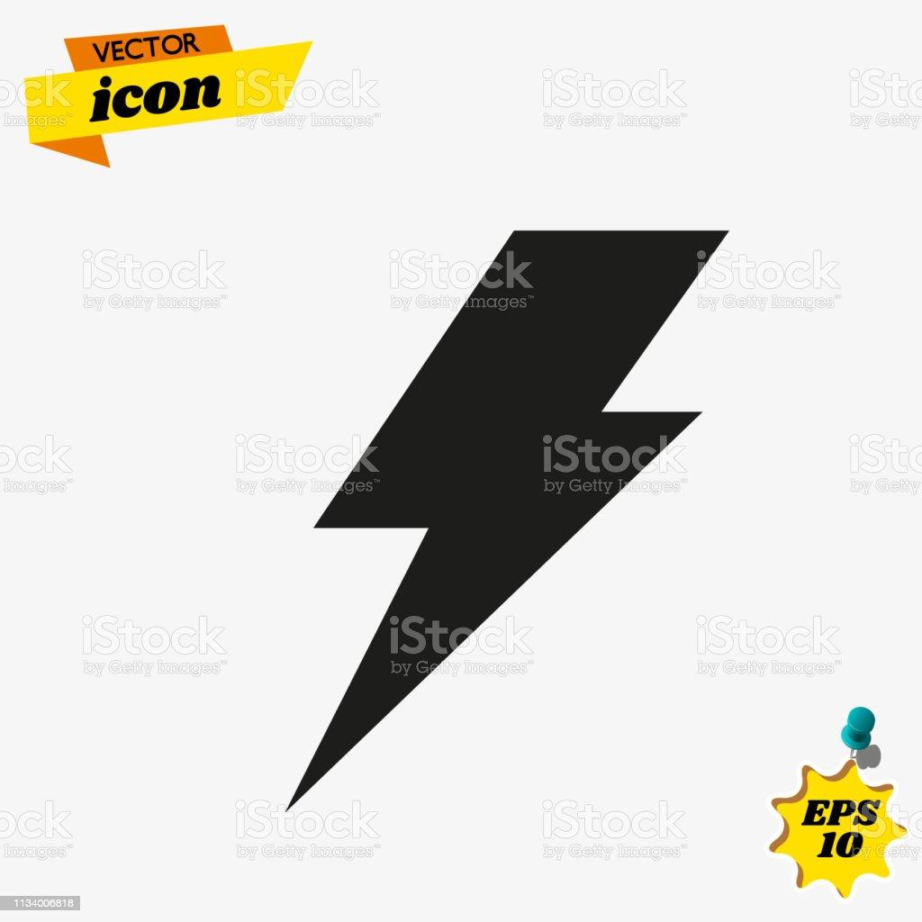 Lightning Electric Power Vector Logo Design Element Energy