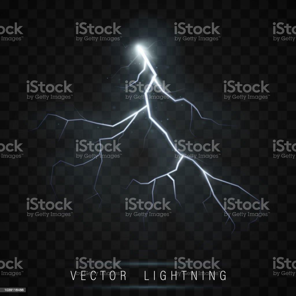 Lightning flash bolt - ilustração de arte vetorial