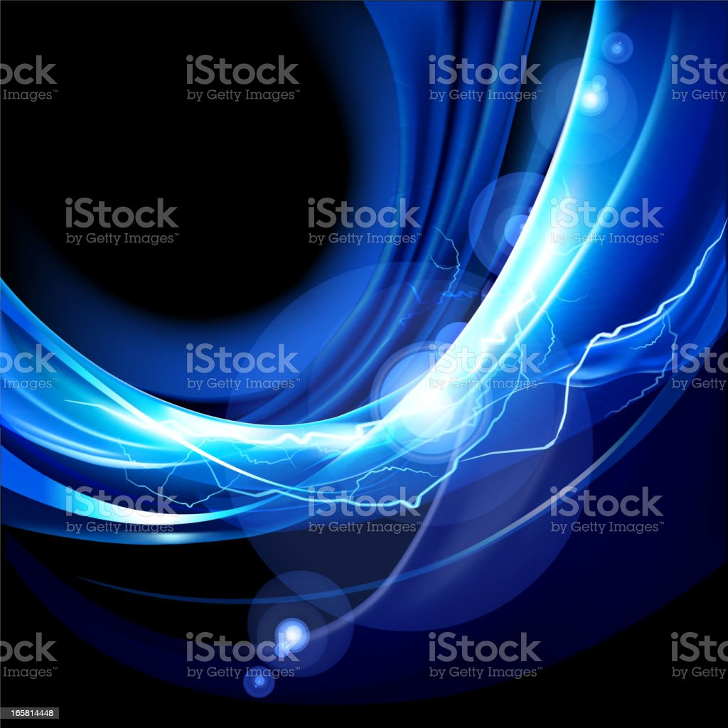 lightning Flashes background royalty-free stock vector art