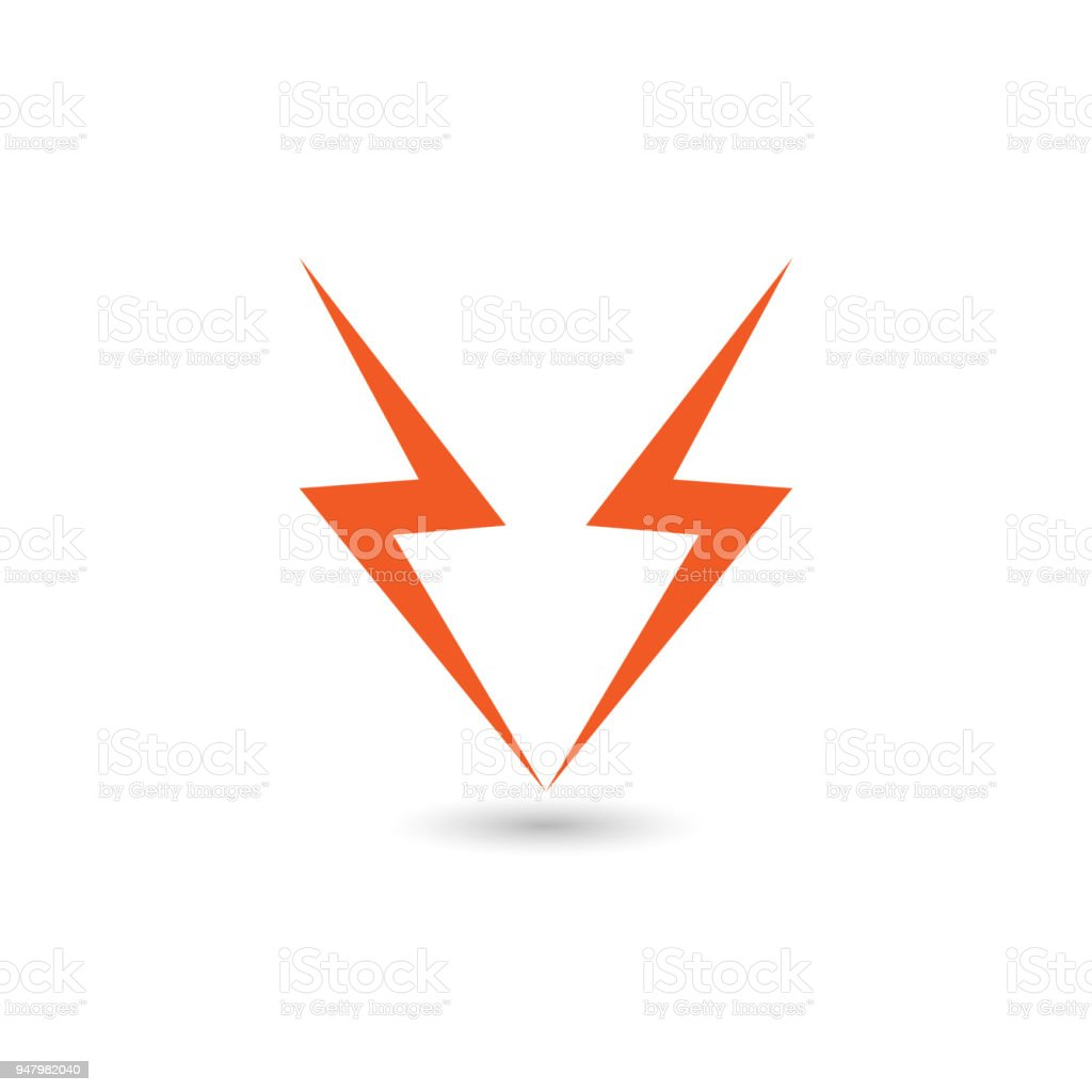 Lightning Flat Icons Simple Icon Storm Or Thunder And Lightning