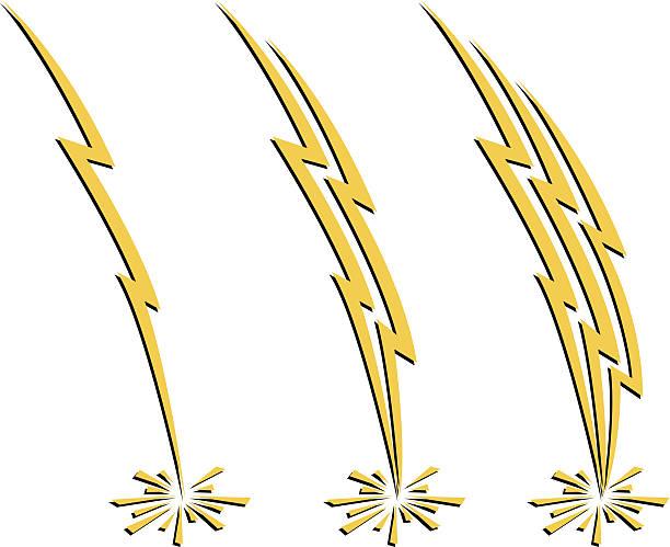 значки молнии - lightning stock illustrations