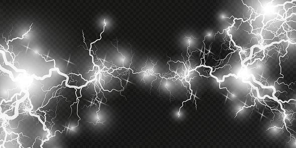 Lightning lightning. Lightning collision, powerful electrical explosion