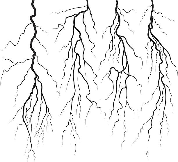 Lightning Bolt Vector Art Graphics Freevector Com