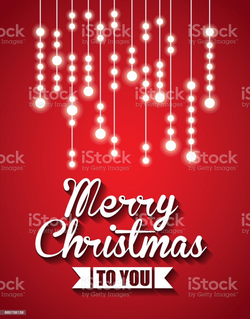 lights icon. Merry Christmas design. Vector graphic ロイヤリティフリーlights icon merry christmas design vector graphic - お祝いのベクターアート素材や画像を多数ご用意