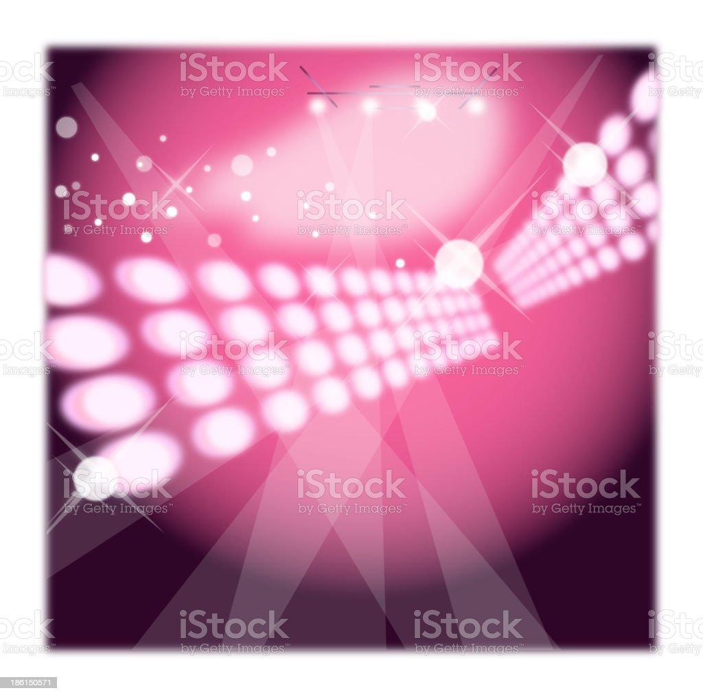 Lights in nightclub royalty-free stock vector art