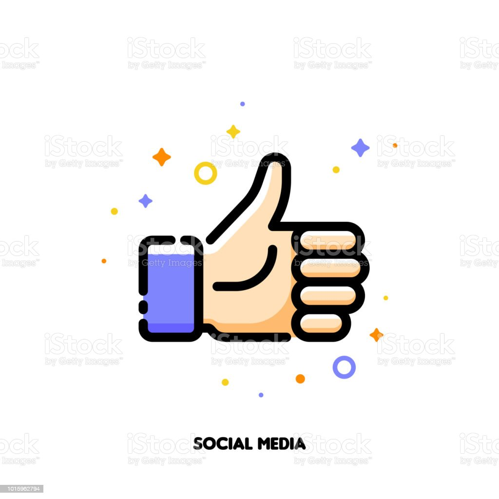 A like button for social networking services, internet forums, news websites and blogs. Icon with thumbs up. Flat filled outline style. Pixel perfect 64x64. Editable stroke a like button for social networking services internet forums news websites and blogs icon with thumbs up flat filled outline style pixel perfect 64x64 editable stroke - immagini vettoriali stock e altre immagini di accordo d'intesa royalty-free