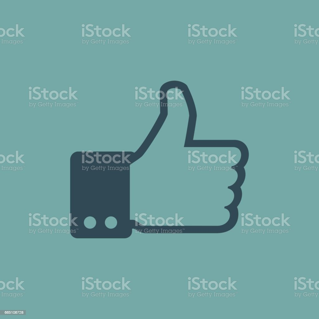 Like Icon and Symbol Vector Design