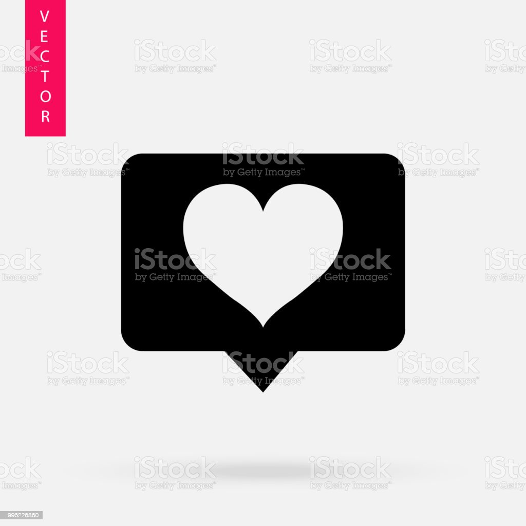 Like icon, vector royalty-free like icon vector stock illustration - download image now