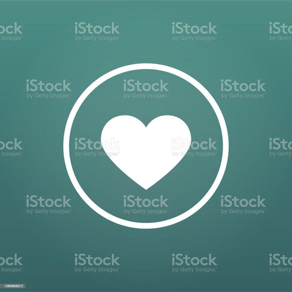Like or favorite heart icon vector. social media Like vector icon