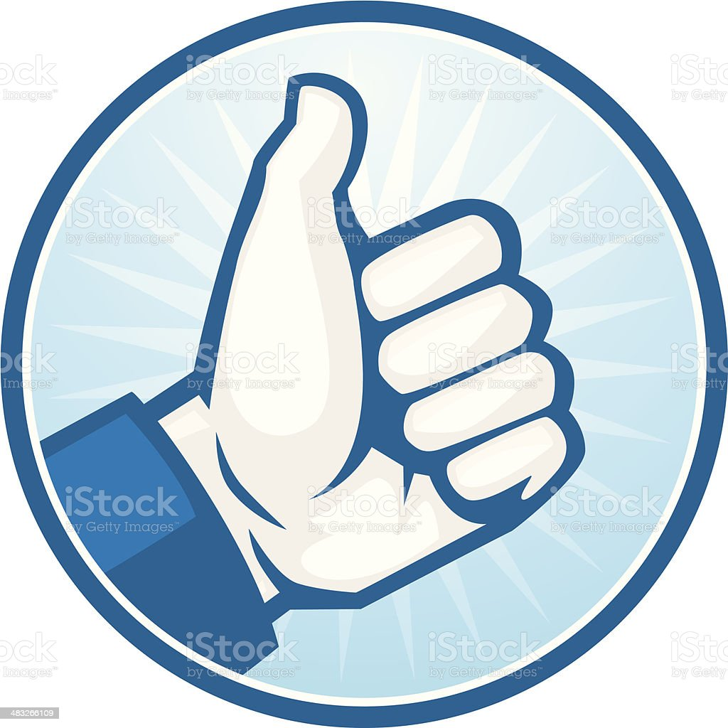 like thumbs up royalty-free stock vector art