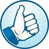 like thumbs up