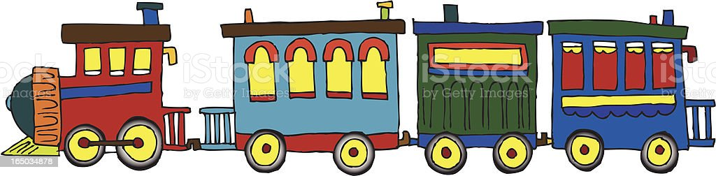 Lil' Choo royalty-free stock vector art