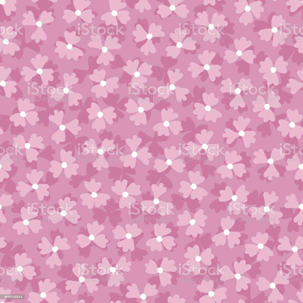Lilac Flowers Purple Floral Background Flowers Seamless Pattern
