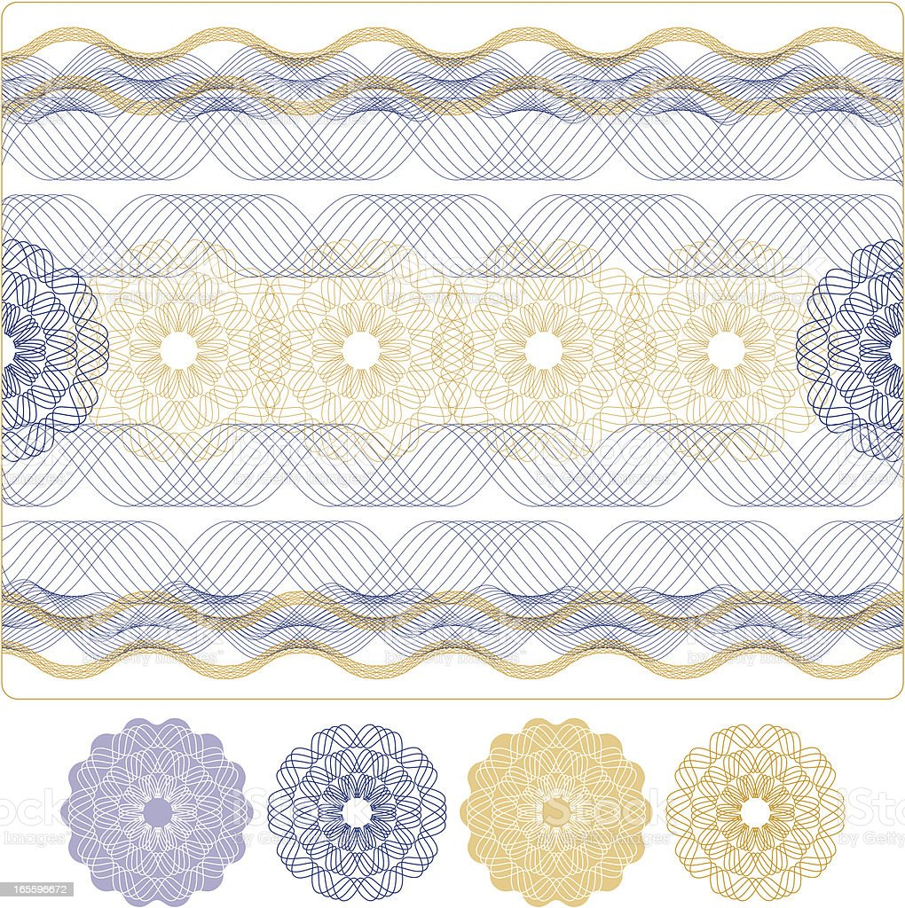 A lilac, yellow, and white flower design greeting card vector art illustration