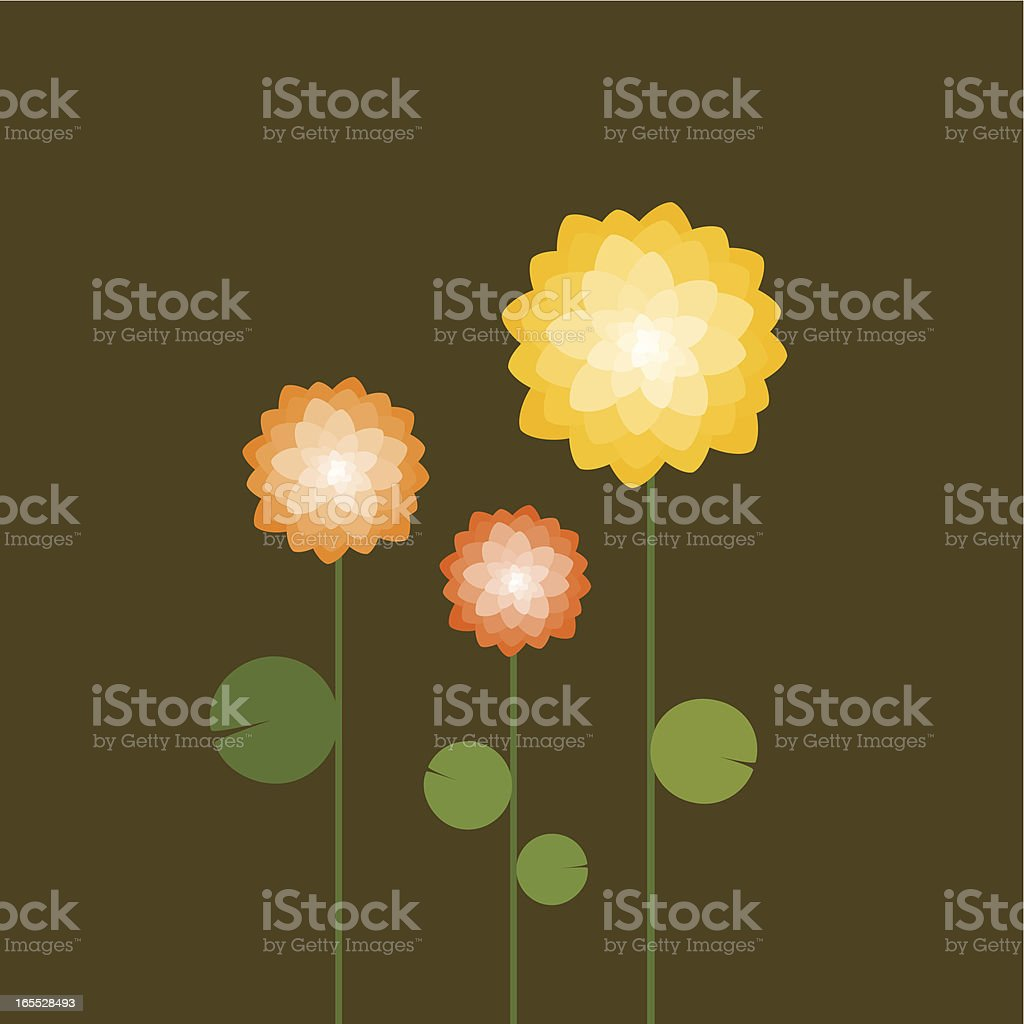 Lily garden royalty-free lily garden stock vector art & more images of abstract