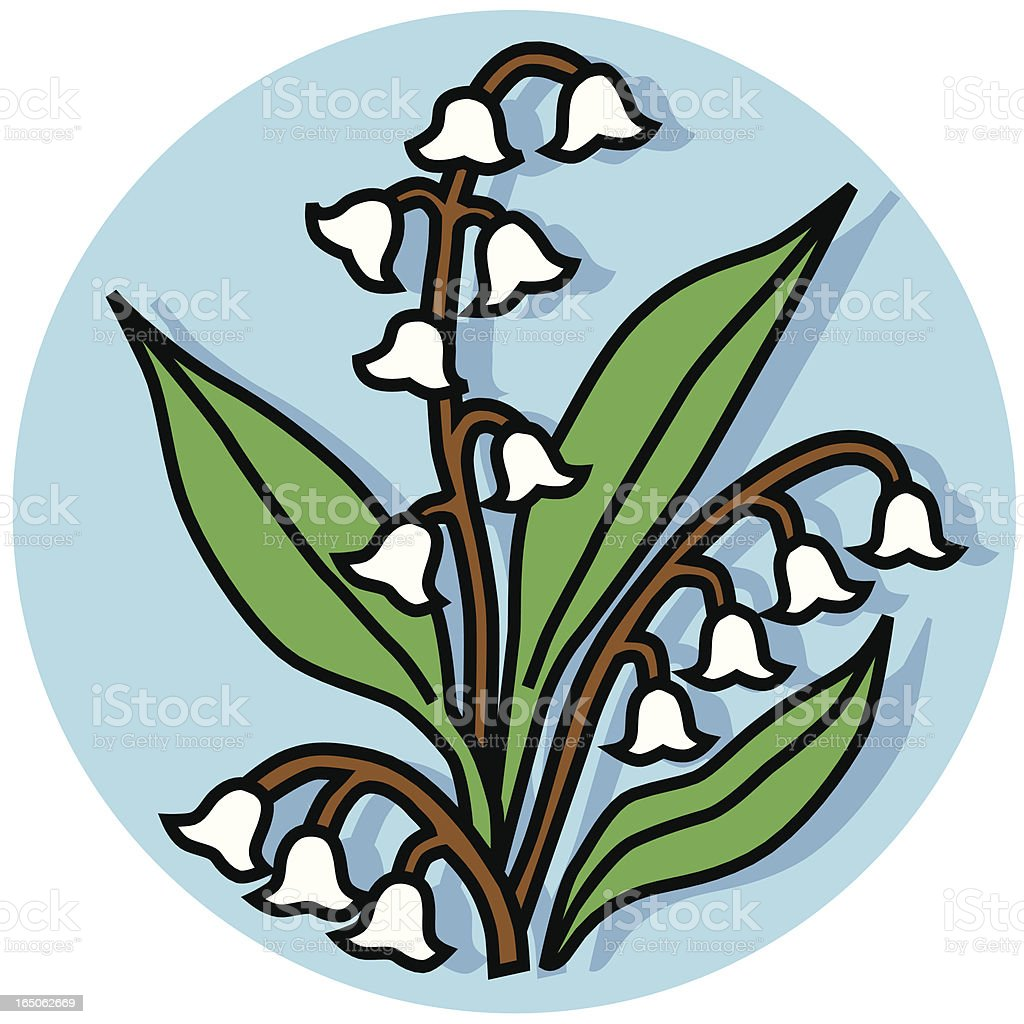 lily of the valley icon royalty-free lily of the valley icon stock vector art & more images of christianity