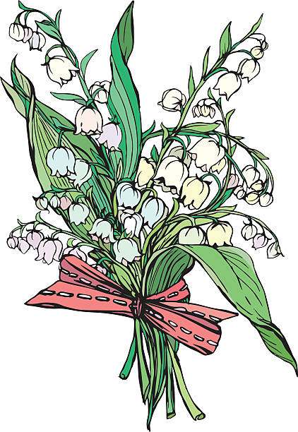 Royalty Free Lily Of The Valley Clip Art, Vector Images ...