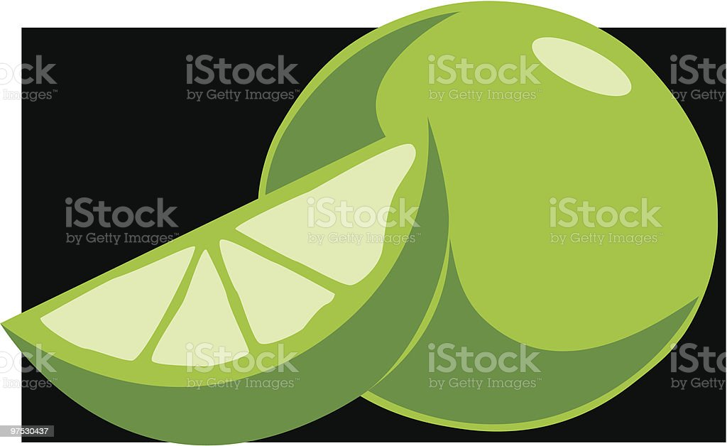 Lime royalty-free lime stock vector art & more images of circle