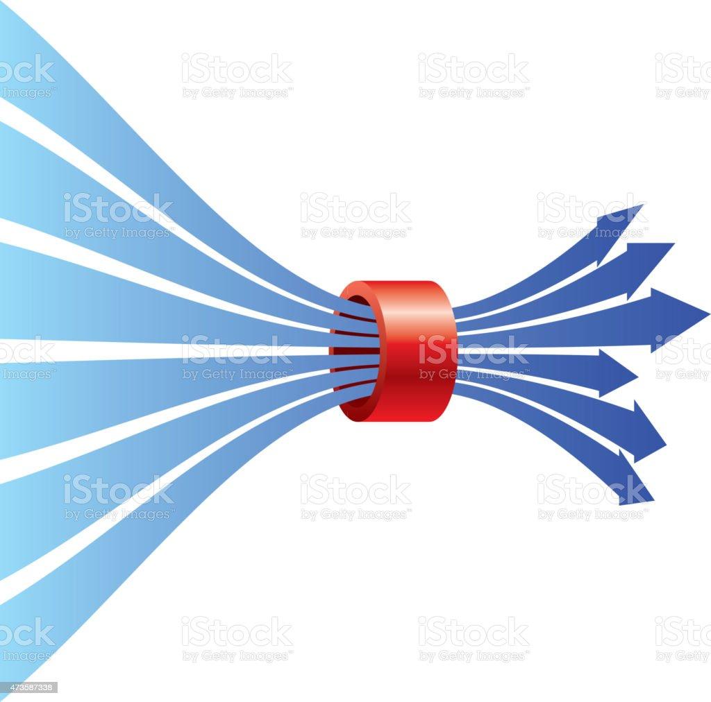 Limit vector art illustration