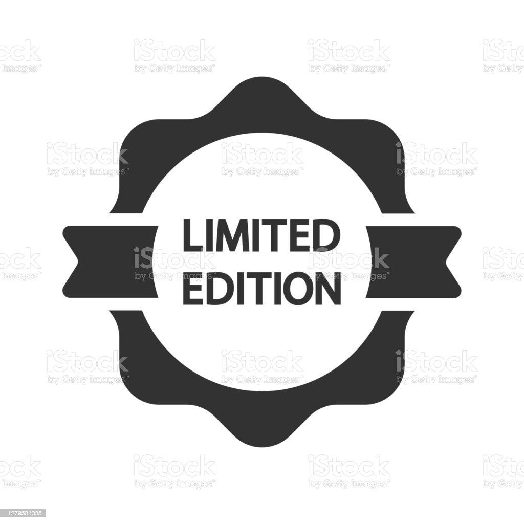 Tag Edisi Terbatas Ikon Label Ilustrasi Stok Unduh Gambar Sekarang Istock