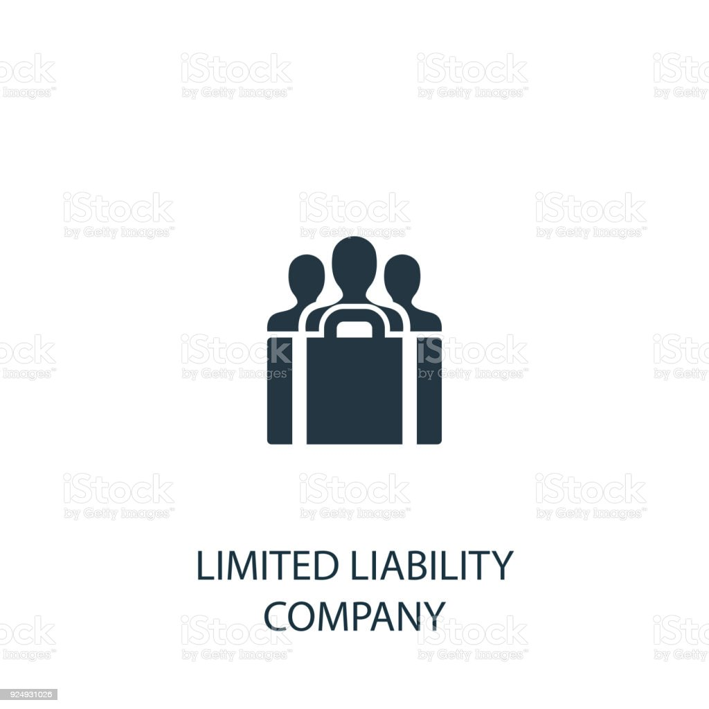 limited liability company icon simple element illustration royalty free limited liability company icon simple