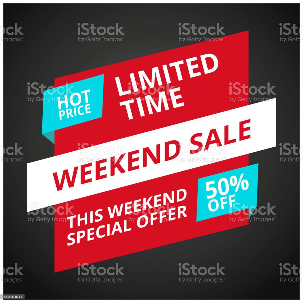 Limited Offer Mega Sale banner. Sale poster. Big sale, special offer,...