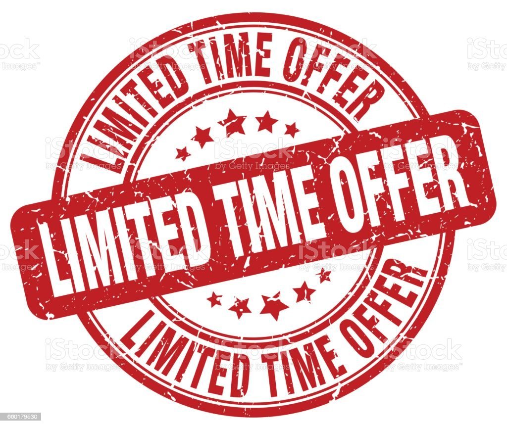 """Image result for """"limited time"""" royalty free"""