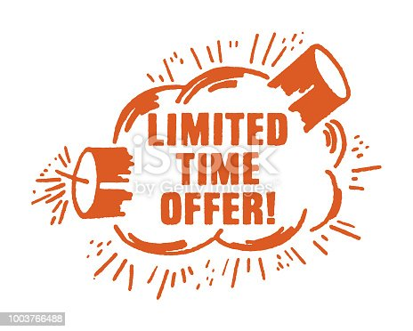 istock Limited Time Offer! 1003766488