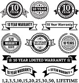 Limited Warranty Badge Collection