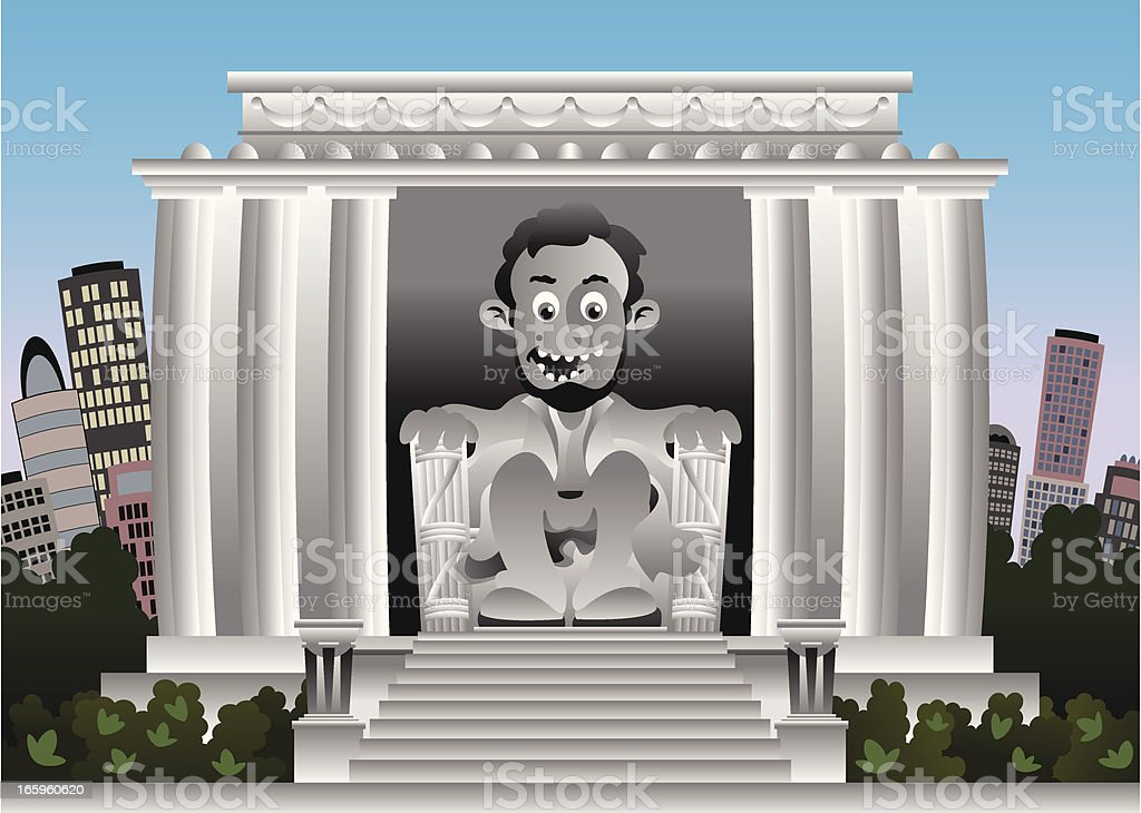 Lincoln Memorial royalty-free lincoln memorial stock vector art & more images of abraham lincoln